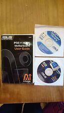 ASUS P5E-V HDMI User Guide, Handbuch mit Treiber CD's (Lifestyle)