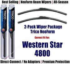 2-Pack NeoForm Wiper Blades fits 1996+ Western Star 4800 - 16200x2