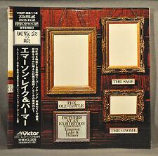EMERSON LAKE PALMER ELP Pictures At Exhibi Orig '02 JAPAN Mini LP CD VICP-62116