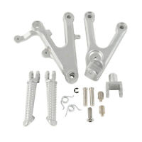 Front Footrest Foot Pegs Bracket For Yamaha YZF R6 2003-2005 2004