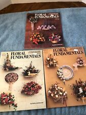 Floral Fundamentals Volumes 1,2,3 Hot Off The Press Hotp 108-109-117