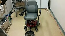 "Shoprider - Jimmie - Rear Wheel Drive Travel Power Chair - 18""W x 17.5""D - Red"