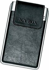 "IcyBox One Touch Back Up Lather Case 2.5"" IDE Hard Drive Enclosure (Win & Mac)"