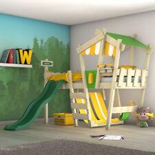 WICKEY Kinderbett Spielbett Hochbett CrAzY Hutty Kinder Etagenbett mit Rutsche