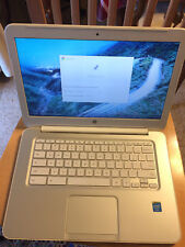 HP Chromebook 14 q010dx it looks & works. sold As IS,  read and see the photos