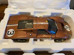 GMP 1:12 Ford GT40 MK IV 1967 #3 Le Mans 24hr Andretti Bianchi #12081 Holman