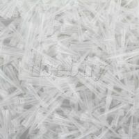 1000pcs 10ul Ultra Micro White Pipette Tips for Micropipette Pipetter Laboratory