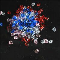 150pcs Acrylic Crystal Ice Rock Stones for Aquarium Vase Gems Table Decorating