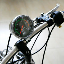 Vintage Style Bicycle Bike Speedometer Analog Mechanical Odometer With Hardware