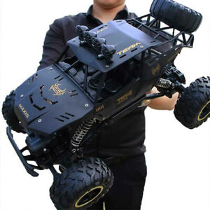 4WD RC Monster Truck Off-Road Vehicle 2.4G Remote Control Buggy Crawler Car D