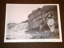 Il Conte di Torino alle Cascate di Stanley nel 1909 Congo Belga