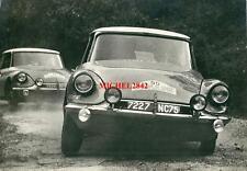 Photo Citroën DS 19 rallye Tour de Corse 1963 Claudine Bouchet Trautmann WRC