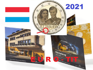 LUXEMBOURG  2021  LE BU  9  PIECES   NEUF   2500  EX   RARE    2021