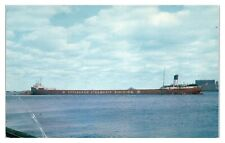 The George F. Baker, Pittsburgh Steamship Division Postcard *5F24