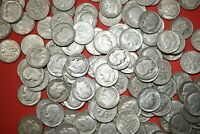 Lot of 10 ROOSEVELT DIMES 90% Silver Coins Random 1946-64 Shipping Discount #RDR