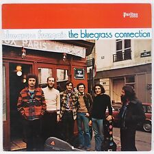 THE BLUEGRASS CONNECTION: Bluegrass Francais USA PURITAN '76 Vinyl LP NM-