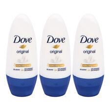 3 x DOVE ROLL ON Original Anti-Perspirant Deodorant for Underarm 50 ML PACK OF 3