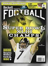 Football Beckett  # 224 March/April 2009  Ben Roethlisberger  cover, no label!