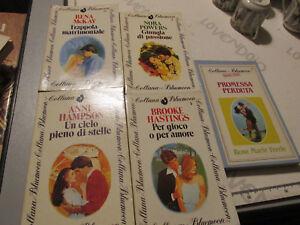 Romanzi Lot 5 Collana Bluemoon Anni 80