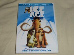 Ice Age 2-Disc Special Edition plus Bonus Material DVD 2002