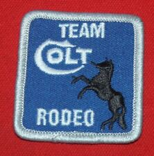 COLT FIREARMS FACTORY Team Rodeo Patch 1997