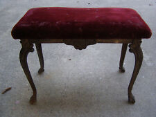 Antique W.H. Howell Cast Iron Bench 1924