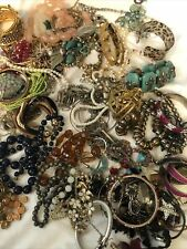 Jewelry 5 lb Lot Vintage to Now Wearable and Craft No Junk Not broken ❤  #8