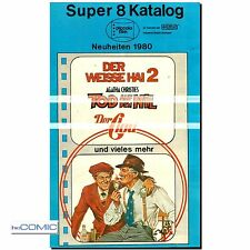 Super 8 Katalog  Piccolo Film  Neuheiten 1980 Programm Prospekt | Zelluliod FILM