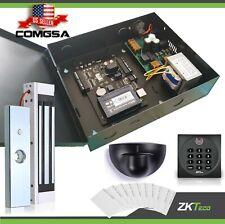 Access control 1 Door Zkteco, C3 100 Door entry System kit ZK, Exit montion.USA