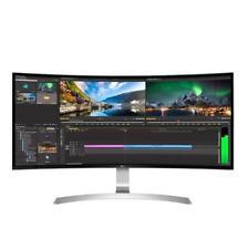 "LG 34"" 34UC99-W QHD UltraWide Curved Gaming Monitor 1440P 21:9 IPS HDMI USBC DP"
