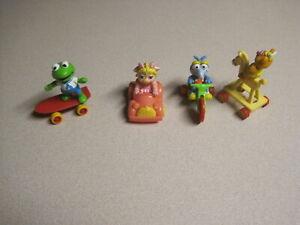 McDonalds 1987 Muppet Babies II (2)  - Complete Set -  Loose