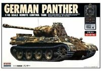 Microace Arii 241011 1/48 German Panther Remote Control Tank F/S w/Tracking# NEW