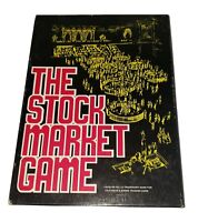 Vintage 1970 THE STOCK MARKET BOARD GAME Avalon Hill Near MINT CONDITION