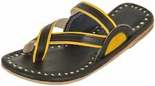 BLACK LEATHER SLIPPERS WOMENS SANDALS HANDMADE LEATHER SANDALS INDIAN CHAPPALS