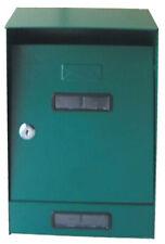 Mailbox Steel Outdoor Grey Letterbox Mail Postman Notice