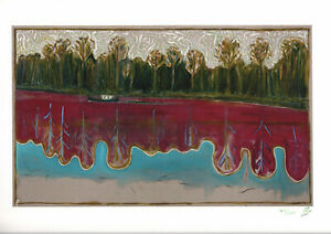 BILLY CHILDISH SIGNED AND NUMBERED DARKNESS WAS HERE YESTERDAY GICLEE 2013 MINT