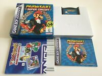 Mario Kart Super Circuit Nintendo Gameboy Advance GBA Complete in Box Great Cond