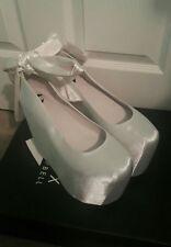 Jeffrey Campbell x Wildfox Ballet Platform Shoe White sz 8 New