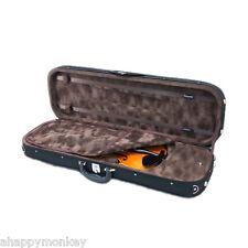 Sky Violin Oblong Case VNCQF02 Lightweight with Hygrometer Black/Brown