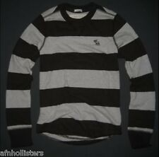 Abercrombie & Fitch Boy's Long Sleeve T-shirt Sweater Sz L NWT