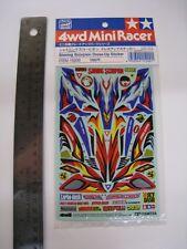 Tamiya Vintage 1/32 mini 4Wd Dress-Up Sticker for Shining Scorpion