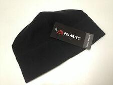 Unisex Black Military Polartec Micro Fleece Cap Polartec Hat