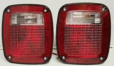 Commercial Universal Tail Lamps Lights Trailer (2 Pcs)