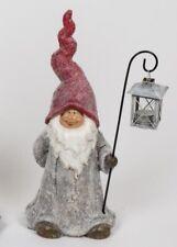 formano Weihnachtsdeko Weihnachtsmann mit Laterne 46 cm - neu