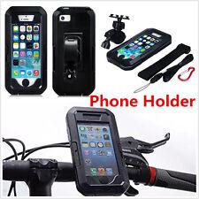 For iPhone 6 6s /7 Plus Waterproof Motorcycle Bike Handlebar Phone Mount Holder