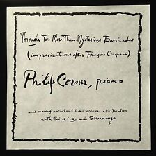 Philip Corner - Through Two-More-Than-Mysterious Barricades LP La Monte Young