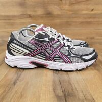 ASICS Gel-Galaxy 5 Womens Running Shoes Size 9.5 - White Black - T281N