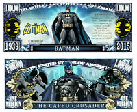 Pack of 25 - Batman Classic Comic 1 Million Dollar Bill Collectible Novelty