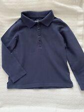 Oshkosh Girls Size 5 Navy Blue Collared Uniform Shirt