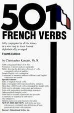 501 French Verbs Verb Conjugation Learn Study Grammar France Conjugate Book pb